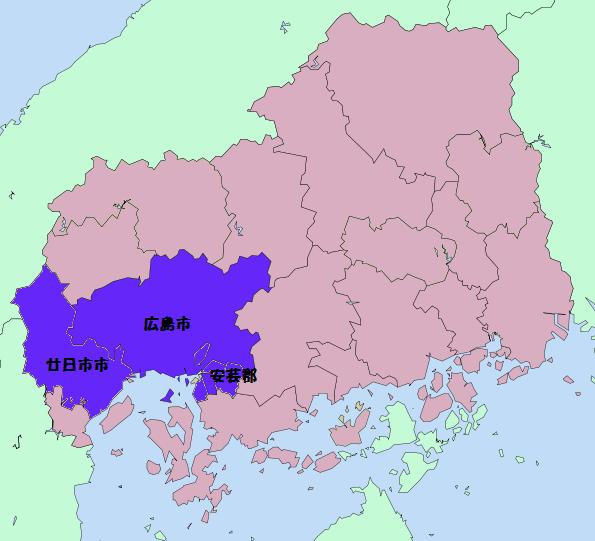 出張地域地図